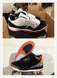 look shoes 2021 - 2020 Latest quality 3s Leather Animal Instinct Pack mens basketball shoes Tinker 11 Low in White Bred Looks On Feet trai