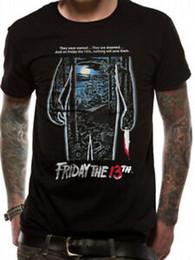 $enCountryForm.capitalKeyWord Australia - Harajukuy The 13th Movie Poster Jason Voorhees Knife Official Black Mens T-shirt