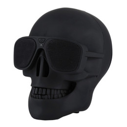 $enCountryForm.capitalKeyWord UK - Luxury Skull Player Wireless Bluetooth Speaker Sunglass speaker Mobile Subwoofer Multipurpose Speakers Cool For Smart Android phone