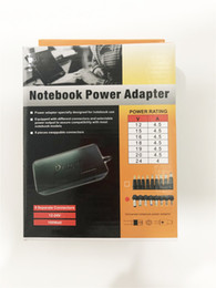 Notebook coNNectors online shopping - Hot Universal W AU EU UK US Laptop Notebook V V AC Charger Power Adapter with Connectors