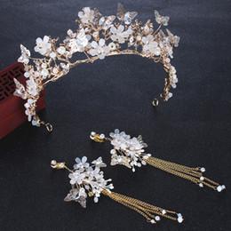 Wholesale Luxury 2019 Wedding Bridal Crowns Tiara Rhinestone Head Pieces Crystal Bridal Headbands Hair Accessories Evening Bride Dresses