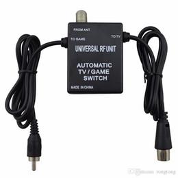 $enCountryForm.capitalKeyWord Australia - 3 in 1 Universal RF Unit Adapter Cable Automatic TV Game Switch for Super Nintendo for NES SNES SEGA Genesis