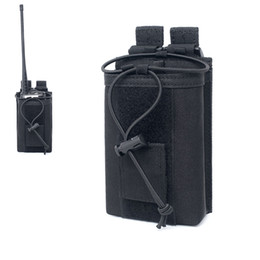 $enCountryForm.capitalKeyWord UK - Tactical Walkie Talkie Holster Bag Outdoor Adjustable MOLLE Pouch Radio Holder Open Top Mag Pouch