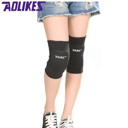 Elbow Supports Children Australia - Aolikes 1 Pair Kids Knee Support Baby Crawling Safety Dance Volleyball Tennis Knee Pads Sport Kneepads Children Protection #71014