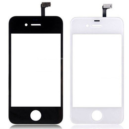 Iphone 4s Digitizer Glass Touch Screen Australia - For iphone 4 4s Touchscreen touch screen digitizer glass lens sensor Replacement Repair Part for iphone 4 4s touch panel