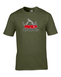 Free swiss army kniFe online shopping - SWISS CHEESE ARMY KNIFE cheese loving military parody T ShirtFunny Unisex Casual Tshirt top