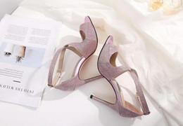 Summer Bride Wedding Shoes Australia - Luxury Designer Heels bride rhinestone crystal diamond glitters high heeled party prom pumps wedding shoes 7ddsw