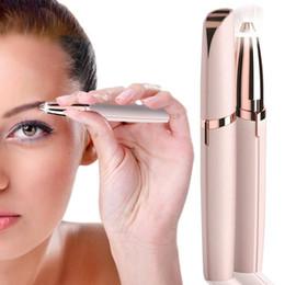 $enCountryForm.capitalKeyWord Australia - Thread Eyebrows Women Epilator Eyebow Repairer Hair Removal Machine Painless Mini Lipstick Epilator Hair Removal Device J190716
