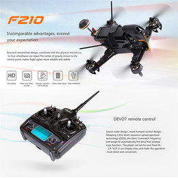 Devo rc transmitters online shopping - Walkera F210 RC Racing Drone Quadcopter UAV with TVL Wide Angle Adjustable Camera Receiver Devo Transmitter OSD RTF