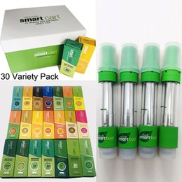 Copper metal box online shopping - Smart Bud Carts Vape Cartridges ml Empty Vape Pens Copper Drip Tip Top Airflow Thick Oil Cartridge with Magnetic Flavor Box Packaging