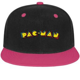 $enCountryForm.capitalKeyWord NZ - Pac-Man game logo Unisex Man Caps Womens Hats Printed Cotton Snapback Flatbrim Top Hats Baseball Caps for Women