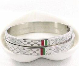 Designer fashion bangles online shopping - 2019 New L Brand Designer bracelet For women Ladies Titanium steel Fashion bracelet with colors Luxury Jewelry