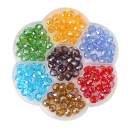 $enCountryForm.capitalKeyWord Australia - 2019 new 8mm color exquisite sapphire crystal loose beads DIY beaded boxed DIY jewelry accessories free shipping