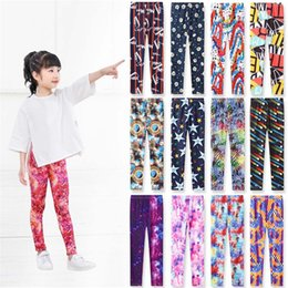 paisley print tights Canada - Free DHL 13 Colors Kids Girls Leggings Baby Girls Fall Srping 3D Printing Tights kids Flowers Printing Pants 50-55-60-65 suit for 1-5T