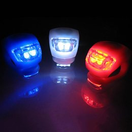 $enCountryForm.capitalKeyWord Australia - LED Bicycle Lights Car Motorcycle Bike Cycling Silicone Head Front Rear Wheel Spokes Safety Light Lamp Bike Front Back Light