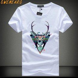 $enCountryForm.capitalKeyWord Australia - Swenearo Free Shipping 2019 Short Sleeve T Shirt Men Fashion Brand Design 100% Cotton T-shirt Male Quality Print Tshirts O-neck