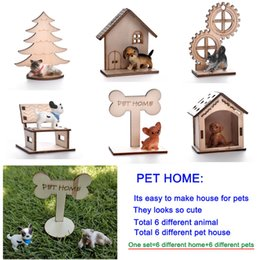 $enCountryForm.capitalKeyWord Australia - Cute realistic dog cat model figurines animal puppy doll pet home 6 different mix diy accemble toy