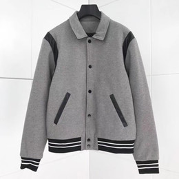 Wholesale mens wool overcoat clothing resale online - 2019 New Winter Wool High quality Mens Coat Jacket gray Outwear Casual Long Overcoat Slim Jackets Men Clothes Coat Mens Sport style