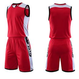 3a347519c Basketball Jersey Set 2019 Women Men Pocket College Team Basketball  Training Suit Breathable Jersey Set Uniform Customized