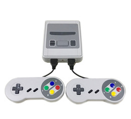 venda por atacado Mini SFC Game Console AV Output SNES 500 Classic Video Games Can Connect to TV And For Two Players