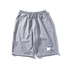 Drawstring C Australia - Champions shorts mens designer short brand uppercase C letter embroidery short pants fashion casual wild pants street sports loose knickers