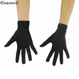$enCountryForm.capitalKeyWord Australia - short gloves Ensnovo Adult 10 Inch Wrist Length Lycra Spandex Full Finger Stretchy Short Glove Halloween Costumes Bike Motocross Gloves