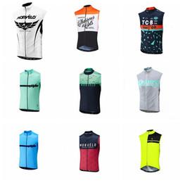 Bicycle Riding Clothing Australia - Morvelo 2019 team Cycling Sleeveless jersey Vest summer Men Pro bicycle clothing Wear Men Breathable Riding Bicycle vest K021819