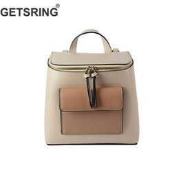 3e2860e415 GETSRING Woman Bag Women Backpack Shoulder Bag Panelled Pu Fashion School  Bags For Woman 2018 New Vintage Casual Backpacks Sexy