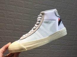 Off Products Australia - New product with Box Off All Hallows Eve Mens White Yellow Black Brand Designer Casual Shoes Size US36-46
