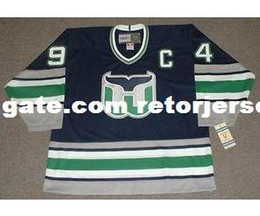 Mens Womens Youth Custom BRENDAN SHANAHAN Hartford Whalers 1995 CCM Vintage  M N Custom Any Name   No. Goalie Cut Coalit Hockey Jerseys 00a5472e0