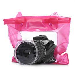 $enCountryForm.capitalKeyWord NZ - Universal Waterproof Camera Case DSLR SLR Camera Underwater Storage Dry Bag Transparent PVC Pouch #234776