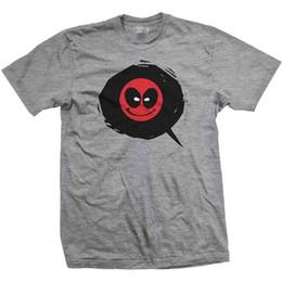 T shirTs emoji faces online shopping - Deadpool Emoji Face Icon Official Marvel Movie X men Grey Mens T shirt