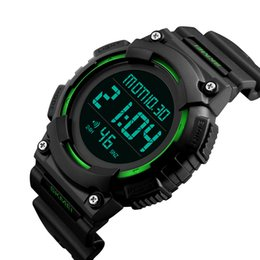 Sport Water Quartz UK - SKMEI Men Sports Watches Water Resistant Luxury Fashion Watch Multifunction Alarm Digital Wristwatch Wholesale Relogio 1248