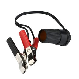 Discount lighter cables - CARPRIE Car Inflatable Pump Clip 1 Set 30A Car Cigarette Lighter to Battery Alligator Clip Charger Cable 12V mar14