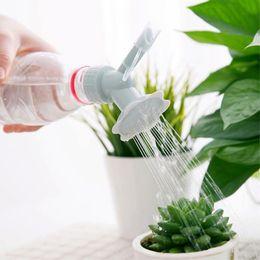 $enCountryForm.capitalKeyWord Australia - Hot 2019 Household Potted Plastic Sprinkler Nozzle For Flower Waterers Bottle Watering Sprinkler Plant Waterer 2 In1 wh1226