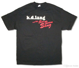 kd t shirts NZ - KD Lang Siss Boom Bang 2011 Tour Black T Shirt New Official