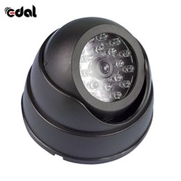 $enCountryForm.capitalKeyWord Australia - Outdoor CCTV Fake Simulatie Dummy Camera Surveillance Beveiliging Dome Mini Camera Knipperende LED Light Simuleren Camera