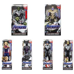 "$enCountryForm.capitalKeyWord NZ - Avengers Endgame PVC Marvel Super Heroes Avengers Thanos Hulk buster High quality Action Figure best gift 12"" 30cm"