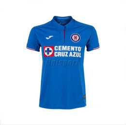 397a8aaa4b4 New 2019 20 home away Mexico Cruz Azul Soccer Jerseys Liga MX Caraglio Jerseys  Futbol Camisetas Caute Football Camisa Shirt Maillot