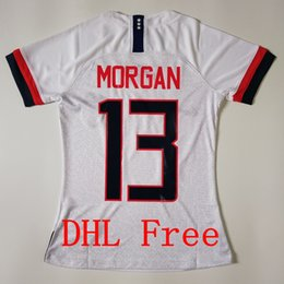 9238367b5 DHL Free Top quality 2019 America MEN WOMAN KIDS Soccer Jerseys 2019 20  HOME AWAY soccer uniform Red white Football FOOTBALL CLOTHES