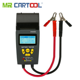 $enCountryForm.capitalKeyWord Australia - Car Battery Tester With Print 12V 24V Analyzer Lead-acid auto CCA IEC EN DIN JIS For Portable Printer Diagnostic Tool DY3015C