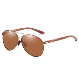 high end designer sunglasses NZ - Men's And Polarized Brand Sunglasses Sunglasses Women's Driver Sunglasses 2 Women's Anti-glare Polarized Driving High-end Designer Men' Pmbx