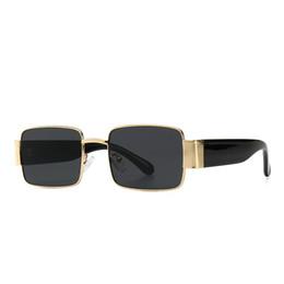 17fda49c1340 2019 Trending Rectangle Sunglasses Women Black Shades Popular Designer  Fashion Sunglasses For Female Male Small Frame Square Retro Eyewear