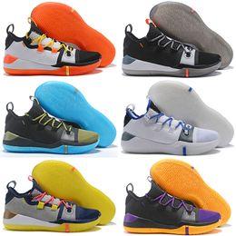 fd81d0235772 2018 Kobe A.D. Mamba Day EP Sail Multi-Color Mens Kids Basketball Shoes  AV3556-100 Kobe Bryant Sports Sneakers Athletic Basket Ball