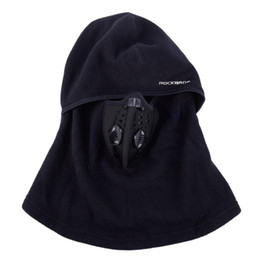 Skate Hats Australia - ROCKBROS Winter Cycling Cap Fleece Thermal Keep Warm  Windproof Cycling Face Mask 04153fc5d74