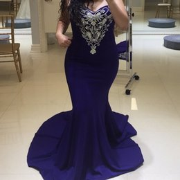 prom dress strapless black lace silk Australia - Blue and Silver Mermaid Prom Dresses Long Strapless Sweetheart Neckline Sleeveless Beaded Formal Evening Gowns Cocktail Party Ball Dress