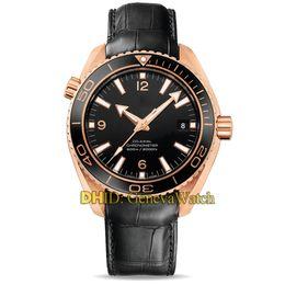 $enCountryForm.capitalKeyWord Australia - Deep SEA 100M Waterproof Luxury Mens Watches Import Mechanical Automatic Movement Watch Man Blue Ceramic Bezel Leather Strap Wristwatches