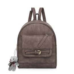 cc31b654ccd3 Personality Retro Simple Ladies Backpack Korean Version Of The New Fashion  High-quality Student Bag Leisure Wild Travel Backpack