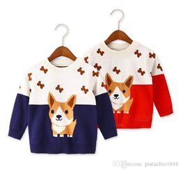 clothes for years old Australia - 2019 autumn and winter children's sweaters for boys and girls sweaters new autumn clothes in the big children 1-3 years old