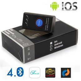 $enCountryForm.capitalKeyWord Australia - 2019 New Mini ELM 327 Bluetooth 4.0 with Power Switch 25K80 ELM327 V1.5 OBD2 Interface Scan Tool for IOS Android